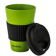 PANDOO Reusable Bamboo Coffee-to-Go Cup, 450ml, Green