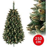 ANMA Vánoční stromek GOLD 250 cm borovice - Vánoční stromek