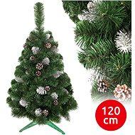 ANMA Vánoční stromek SNOW 120 cm borovice - Vánoční stromek