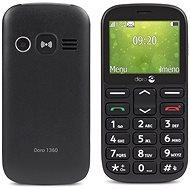 Doro 1360 Dual SIM Black - Mobilní telefon pro seniory