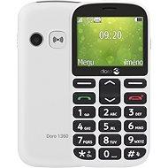 Doro 1360 Dual SIM White - Mobilní telefon