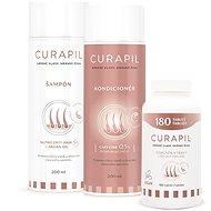 CURAPIL Set 180 tablet, šampon a kondicionér