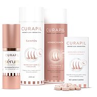 CURAPIL Gift Pack (60 Tablets, Shampoo, Conditioner, Regenerating Serum) - Dietary Supplement