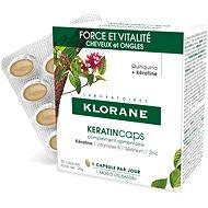 Doplněk stravy KLORANE KeratinCaps - Síla & vitalita, vlasy a nehty, doplněk stravy 30 tobolek
