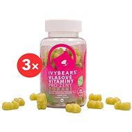 Doplněk stravy IVYBEARS Vlasové vitamíny pro ženy - Zdraví 3 × 60 ks
