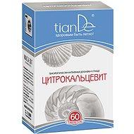 Doplněk stravy TIANDE Funkční komplex Citrokalcevit - Vápník pro krásu zevnitř 60 tablet