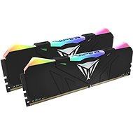 Patriot Viper RGB Series 16GB KIT DDR4 3200Mhz CL16 černá - Operační paměť