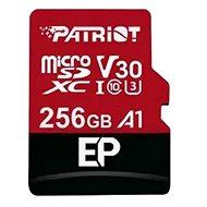 PATRIOT EP Series 256GB MICRO SDXC V30 A1 - Paměťová karta