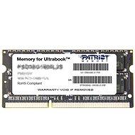 Patriot SO-DIMM 4GB DDR3 1600MHz CL11 Ultrabook Line - Operační paměť