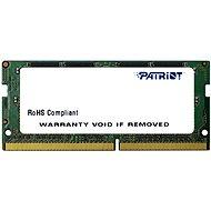 Patriot SO-DIMM 4GB DDR4 2133MHz CL15 - Operační paměť
