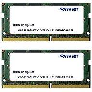 Patriot SO-DIMM KIT 16GB DDR4 2400MHz CL17 Signature Line - Operační paměť