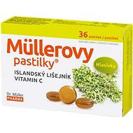 Müller's Lozenges® with Icelandic Lichen and Vitamin C 36 pcs - Herbal Lozenges