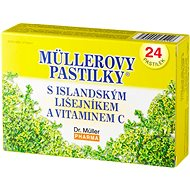 Müller's Lozenges® with Icelandic Lichen and Vitamin C 24 pcs - Herbal Lozenges