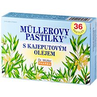 Müller Lozenges® with Cajeput Oil 36 pcs - Herbal Lozenges