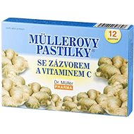 Müller's Lozenges® with Ginger and Vitamin C, 12 pcs - Herbal Lozenges