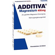Additiva Magnesium 400 Mg, tablety 30 tbl.