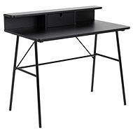 Psací stůl Design Scandinavia Pascal 100 cm, černý