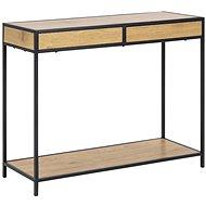 Seashell Storage/Console Table, 100cm, Oak - Side Table