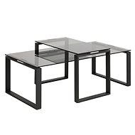 Konferenční stolek Leila, 115 cm, černá - Konferenční stolek