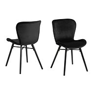 Dining chair George I. (SET 2 pcs. ), Black - Dining Chair