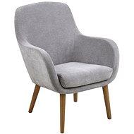 Armchair with Armrests Lisa, Grey - Armchair