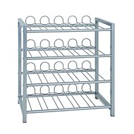Bottle Rack with 4 Daimler Shelves, 60cm - Shelf