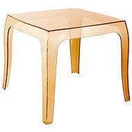 Konferenční stolek Prince, 50 cm oranžová - Stolek