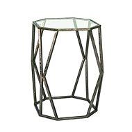 Derek Coffee Table, 50cm, Antique Bronze - Coffee Table