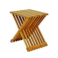 Cliff Folding Table, 44cm, Bamboo - Side Table
