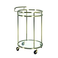 Corey Serving Table, 75cm, Bronze - Food Serving Trolley
