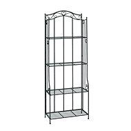 Metal Shelf Evan, 174cm, Stainless-steel - Shelf