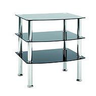 Konferenční stůl Sanford II, 59 cm, nerez - Konferenční stolek