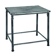 Coffee table Nels, 52 cm, antique black - Coffee Table