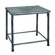 Konferenční stolek Nels, 52 cm, antická černá - Konferenční stolek