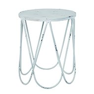 Armin side table, 45 cm, white - Side Table