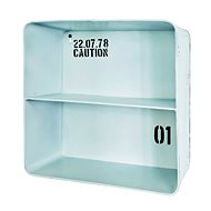Carm Wall Shelf 30cm, White - Shelf
