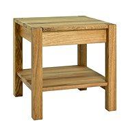 Noční stolek Molk, 43 cm, dub - Noční stolek