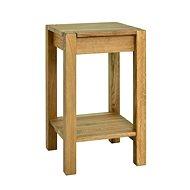 Odkládací stolek Luke, 60 cm, dub - Odkládací stolek