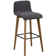 Bar stool Areta (SET 2 pcs), anthracite - Bar Stool