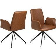 Native Swivel Chair, Cognac - Armchair