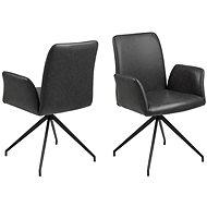 Native Swivel Chair, Black - Armchair