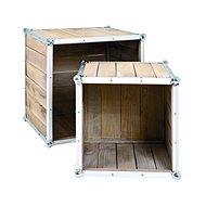 Multifunkční stolky Gerda, sada 2 kusů, borovice - Konferenční stolek