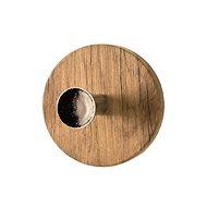 Dilan wall hook, oak / chrome - Hook