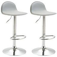 Barová židle Lane (SET 2 ks), šedá - Barová židle