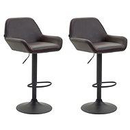 Henry bar stool (SET 2 pcs), dark brown - Bar Stool