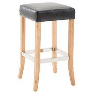Barová stolička Tiana, černá - Barová židle
