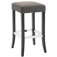 Barová stolička Tiana, tmavě šedá / černá