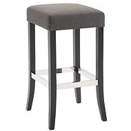 Tiana bar stool, dark gray / black