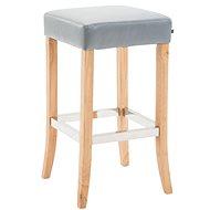 Barová židle Vent, šedá / dřevo