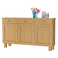 Tyle Danish Style Chest of Drawers, 150cm, Pine